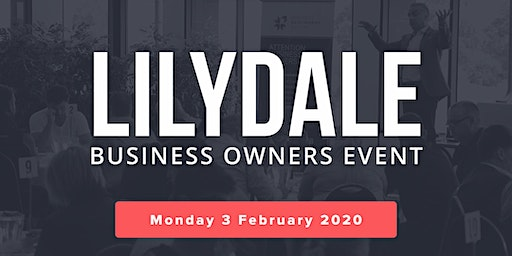 Lilydale Free Business Owners Event