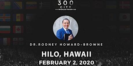 Rodney Howard-Browne in Hilo, Hawaii tickets