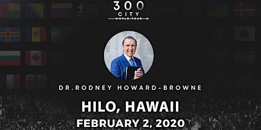 Rodney Howard-Browne in Hilo, Hawaii