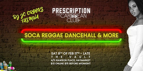 Prescription Nightclub x Dancehall, Soca, Reggae tickets