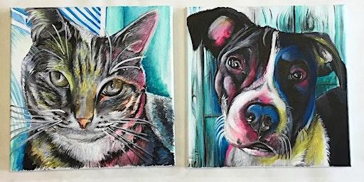 Paint Your Pet PAWtraits with Artist Raffaele Feleppa