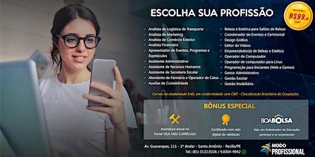 PREPARE-SE PARA CONQUISTAR O MERCADO DE TRABALHO ! ingressos