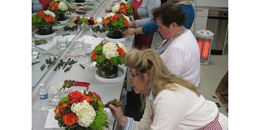 Fall Focus Floral Design Class - October 15th (10-15-2020 starts at 6:00 PM)
