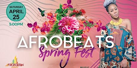 DC Afrobeats Spring Fest - Artist & Dance Performances | Top DJs | Popup Shop | Food Vendors | Art | Day Party tickets