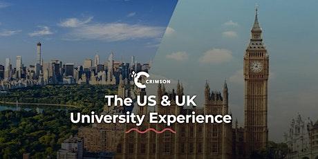 Everything you need to know to get into US & UK Universities | Taipei tickets