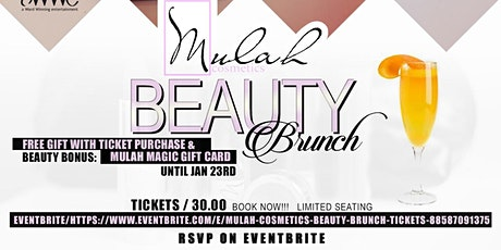 Mulah Cosmetics Beauty Brunch tickets