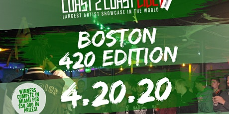Coast 2 Coast LIVE Showcase Boston, MA - Artists Win $50K In Prizes tickets