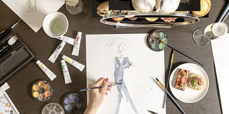 Artea - Fashion Illustration Workshop & High Tea tickets
