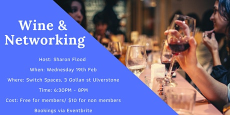 Wine & Networking tickets