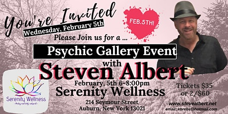 Steven Albert: Psychic Gallery Event - Serenity 2/5 tickets
