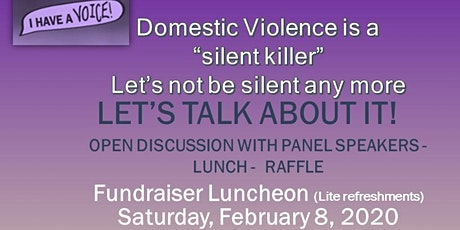 Let's Talk About It!  Luncheon tickets
