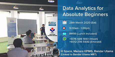 Data Analytics for Beginners tickets