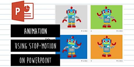 PowerPoint Animator: Animation Using Stop-Motion On PowerPoint tickets