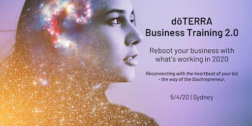 SYDNEY dōTERRA Business Training 2.0 5/4/20