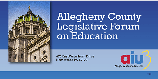 Allegheny County Legislative Forum on Education