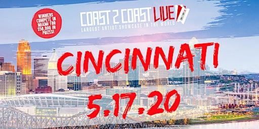Coast 2 Coast LIVE Showcase Cincinnati, OH - Artists Win $50K In Prizes