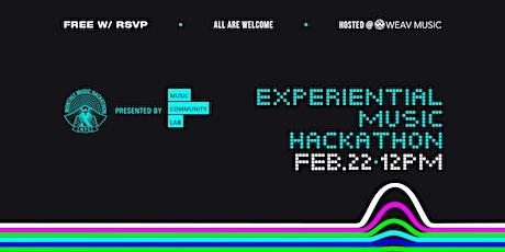 Experiential Music Hackathon tickets