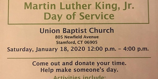 MLK Day of Service at Union