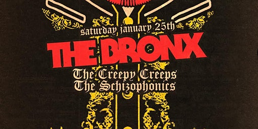 Alex's Bar 20th Anniversary Show: THE BRONX + The Creepy Creeps & more!