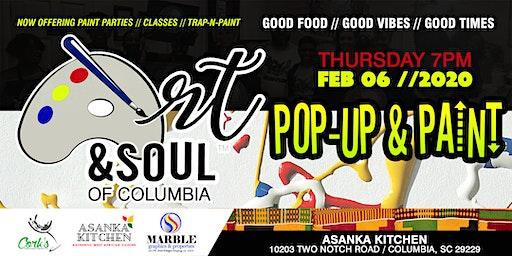 Art & Soul of Columbia - Pop-Up & Paint 02/06