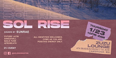 Sol Rise - A party celebrating music of the Diaspora and the human spirit tickets