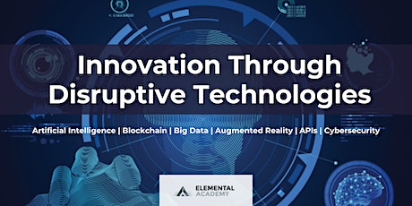Innovation and Business Growth Through Disruptive Technologies (1.5 Days) tickets