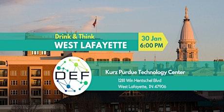DEF West Lafayette Drink & Think tickets