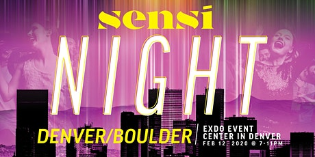 Sensi Night Denver 2.12.20 tickets