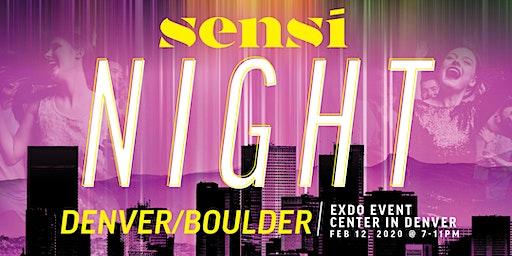 Sensi Night Denver 2.12.20