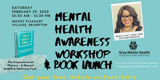 Mental Health Awareness Workshop & Book Launch
