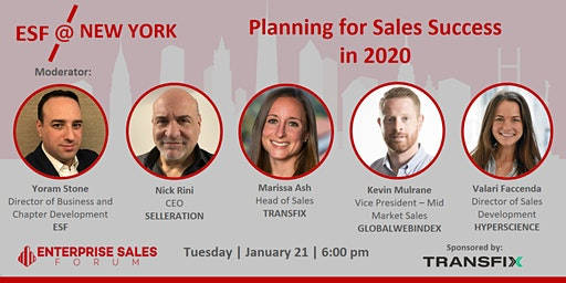 Planning for Sales Success in 2020