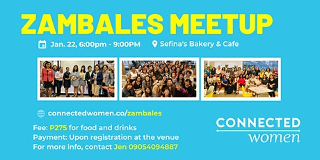 #ConnectedWomen Meetup - Zambales (PH) - January 22 tickets