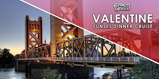 VALENTINE SUNSET DINNER CRUISE - River City Queen - Sacramento