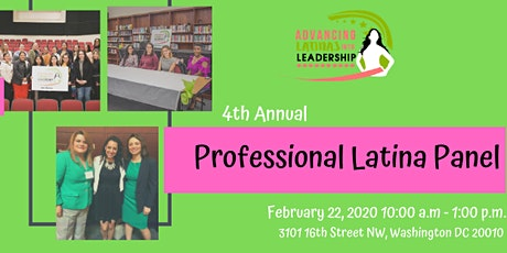 4th Annual Professional Latina Panel tickets