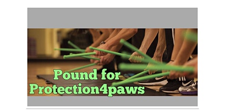 POUND for Protection4Paws (Fitness Fundraiser) tickets