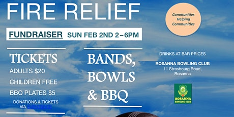 Bands, Bowls & BBQ - Fire Relief Fundraiser tickets