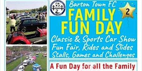 Barton Town Family Fun Day 2020 tickets