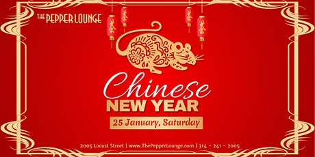 1st Annual Chinese New Year Celebration at The Pepper Lounge tickets