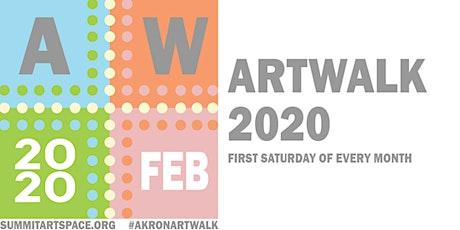 Akron Artwalk February 2020 tickets