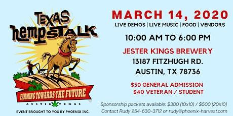 2nd Annual Texas Hempstalk 2020 tickets