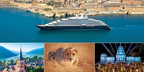 Ocean & River Cruising and Escorted Land Journeys Information Session tickets
