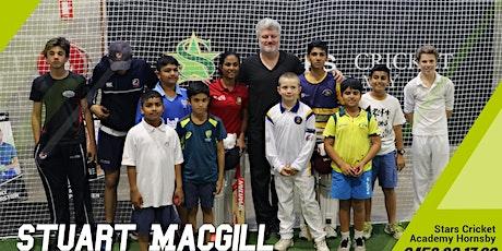 Stuart Macgill Summer holiday clinic Cricket Masterclass tickets