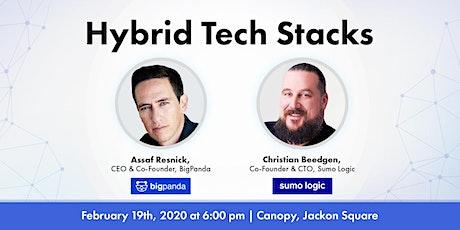 Hybrid Tech Stacks w/ BigPanda & Sumo Logic tickets