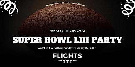 Flights Las Vegas Super Bowl LIII Party tickets
