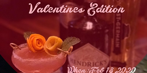 Mix,Sip and Mingle (Valentine's Édition)