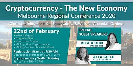 CRYPTO: THE NEW ECONOMICS tickets