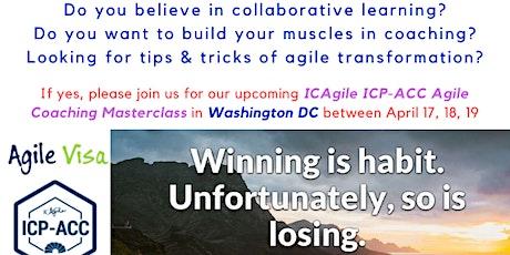 ICAgile ICP-ACC Agile Coach Certification Workshop - Washington, DC tickets