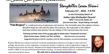 Seattle Storytellers Guild Presents Storyteller Loren Niemi tickets