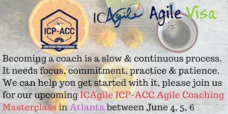 ICAgile ICP-ACC Agile Coach Certification Workshop - Atlanta, Georgia tickets