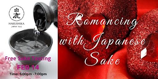 Romancing with Japanese Sake ( Free Sake Tasting)